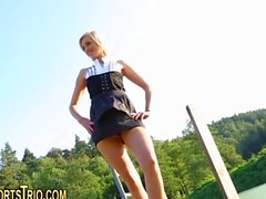 blondine hardcore teenager