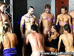 bisexual blowjob group sex