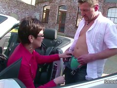 big boobs big cocks blowjob brunette german