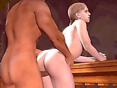 oral sex domination deepthroat animated threesome