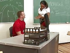 pompino aula ebano studentesse nude