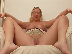 young blonde skinny big-boobs flashing