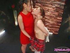 japanese asian lesbians teacher