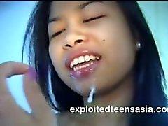 amateur asiático adolescente