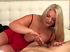 big boobs blonde cumshot