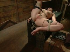 20 year old Lindy Lane has MIND BLOWING ORGASMS from Electrical Stimulation