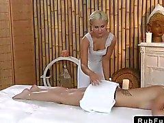 lesbian massage lesbians