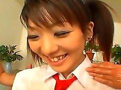 asian japanese teen threesome