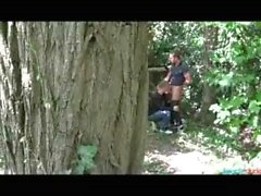 gay 2-guys sex-in-the-woods fucked-in-the-woods