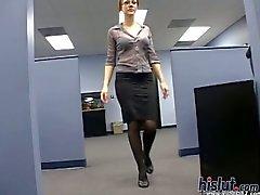 anaal drietal brunette lingerie gelaats