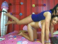 menina - em-menina lésbica webca levantar transportar