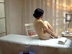 bebé morena erótico masaje