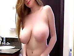 amateur big boobs blonde softcore solo