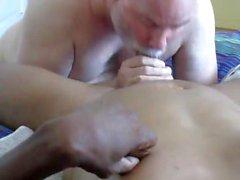 gay svart och ebenholts stor kuk