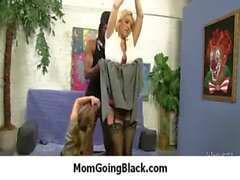maduro negro interracial milf