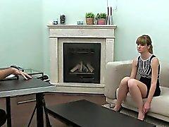 amateur brunette casting