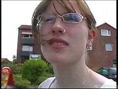 teen sybian german sits