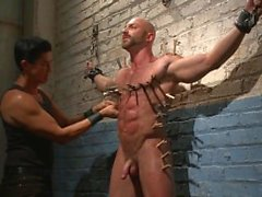 muscle 6pack tied-up bondage
