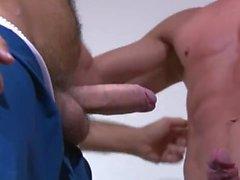 muscular caliente papá doctor comprobar doctor del primer