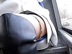 amateur flashing stockings upskirts