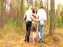 forest russian teen