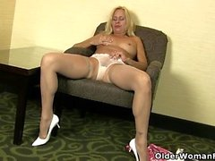 hairy hd masturbation milf
