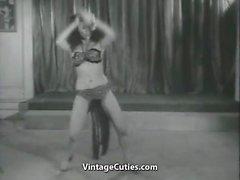 pornstars striptease tits vintage