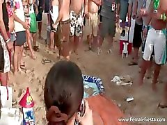 amateur babe beach group sex outdoor