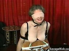bdsm esclavage brunette