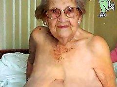 bbw peitos grandes loira morena avó