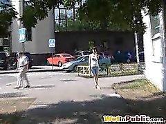 fetisch im freien öffentlichkeit