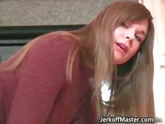 amateur brunette fetish nylon