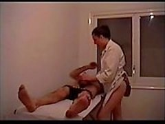 vipstrip - Naughty masseuse is sucking her client's dick