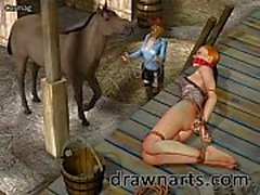 Carmag specializes in 3d damsels in distress in his BDSM artwork and it&rsquo_s COOL