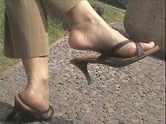 amatööri jalka fetissi tirkistelijä