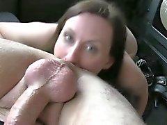 asslick blowjob brunette milf