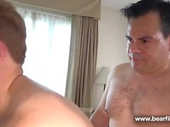 bear chubby ass fuck otter hard anal sex analized pounded daddy big