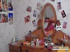 amateur masturbation petite russian skinny