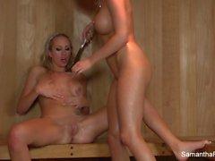 babes big boobs blondes lesbians