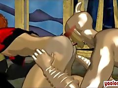 gay actionheroes doggystyle animated hentai