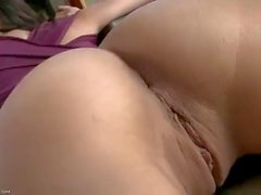 18 year old big tits pussy brunette dildo