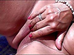 amateur plage masturbation