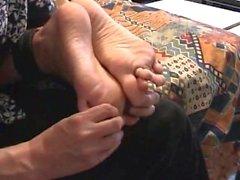 bdsm çıplak ayak gıdıklama
