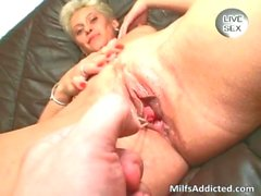 milf pussy hardcore blonde mother