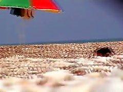 beach italian voyeur