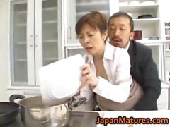 Hitomi Kurosaki Mature Asian chick part2