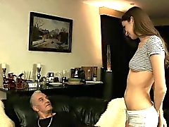 328 Sexy little bitch wants anal sex from old guy