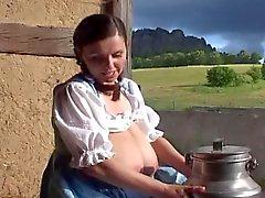 gros seins allemand mamelons