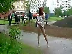 amateur flashing public nudity russian voyeur