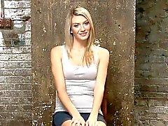 bdsm blonde close-up fetish